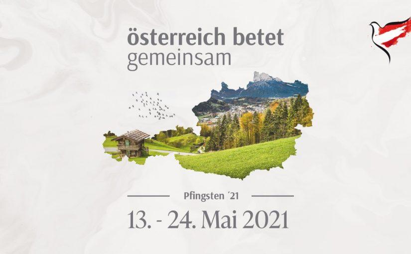 Österreich betet gemeinsam: Pfingstnovene 2021